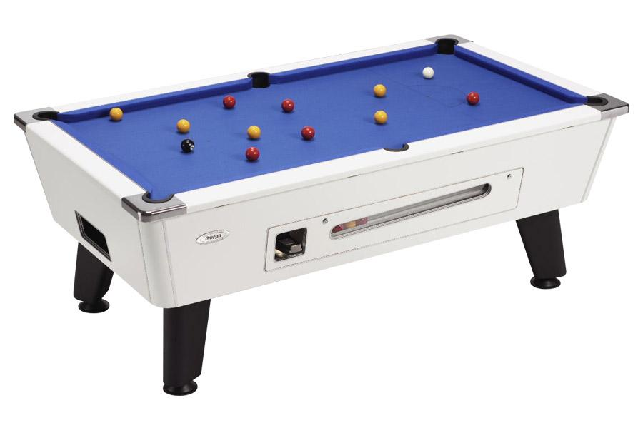 Valencia coin operated pool table