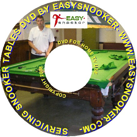 snooker servicing